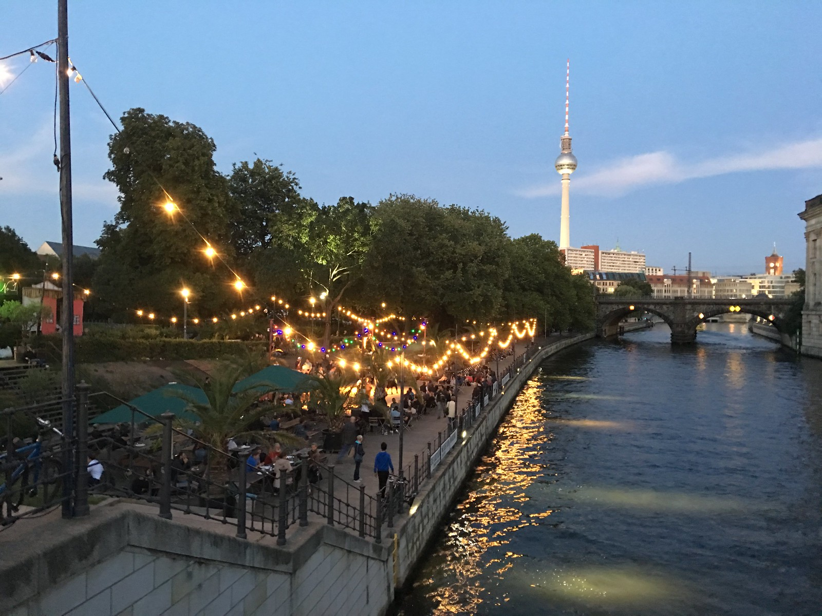 Stories from Berlin: At the Beach Bar in Mitte