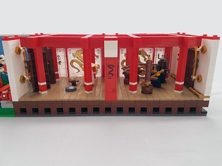 Silly House - Ninjago Room, temple interior | by d_dardanel
