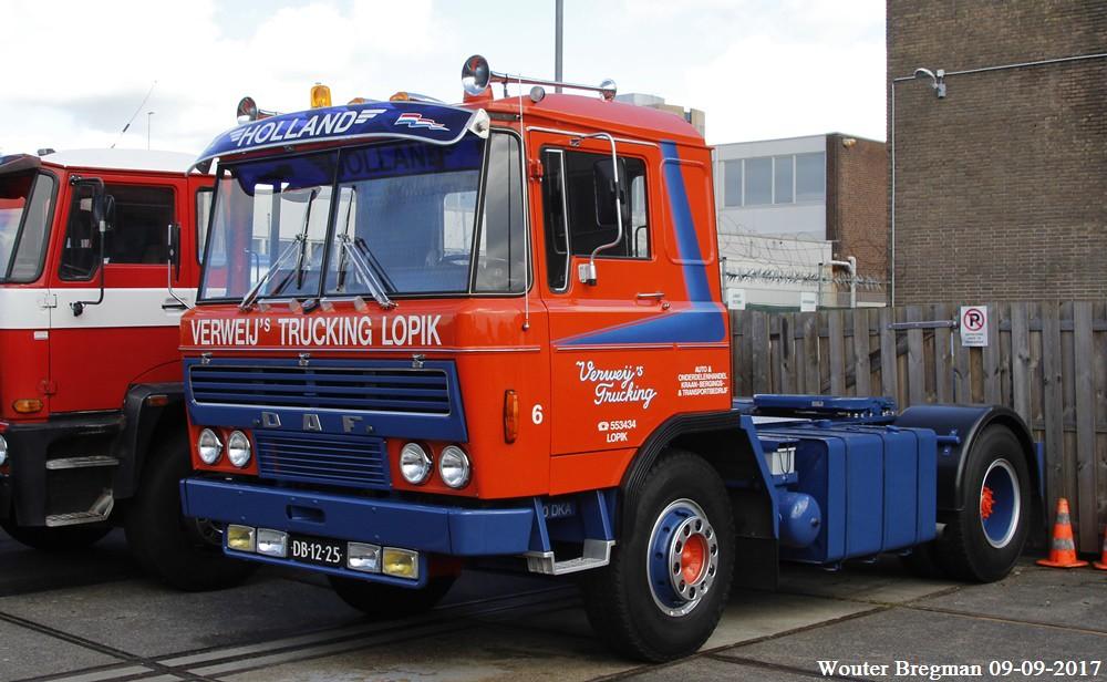 DAF 2600 1973 | DAF Oldtimerdag 2017 Truckland, Amsterdam ...