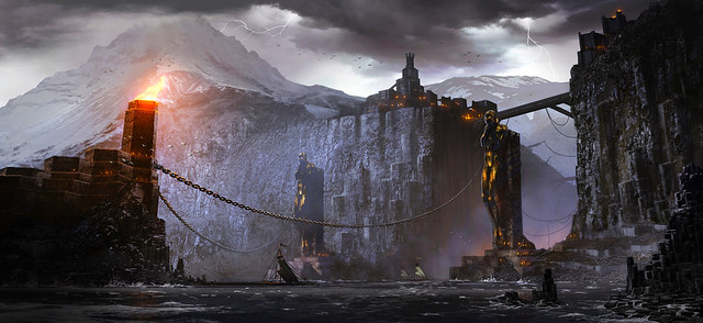 Damos City and the Gates of Norns