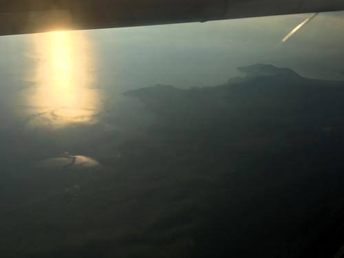 window seat greece view