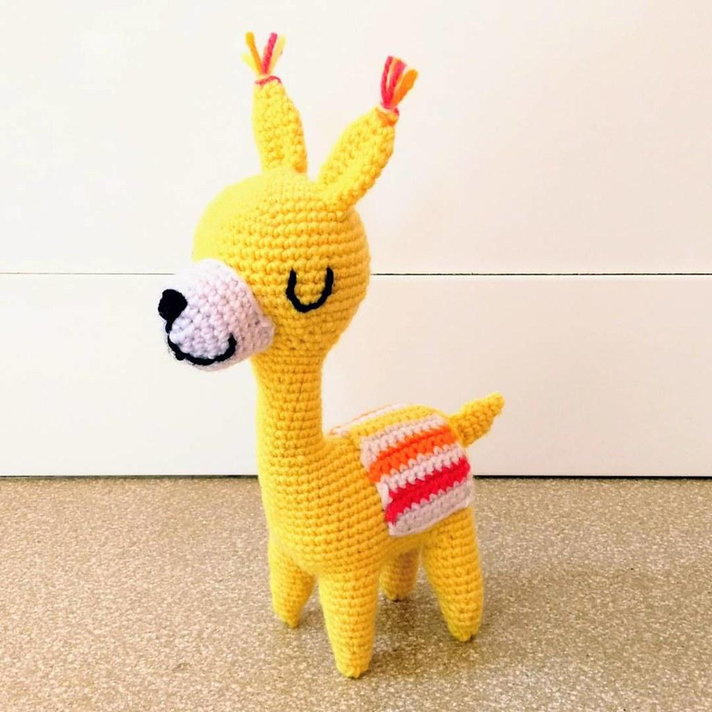 Alpaca Amigurumi Free Crochet Pattern | 1024x1024