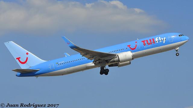 SE-RFR - TUIfly Nordic - Boeing 767-38A (ER) (WL) - PMI/LEPA