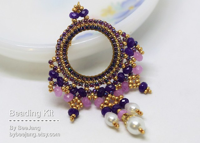 Ayla Earrings - Beading Kits