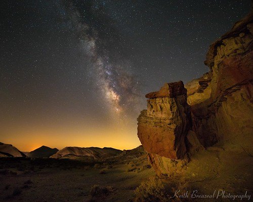 Red Rock Canyon & Milky Way 4675 © Keith Breazeal | by Keith Breazeal Photography