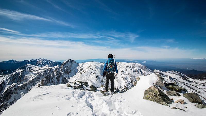 立山の雪山登山を終えて