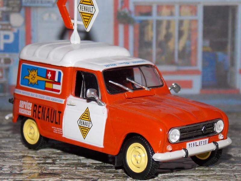 Renault 4F4 - Service Vacances - 1971