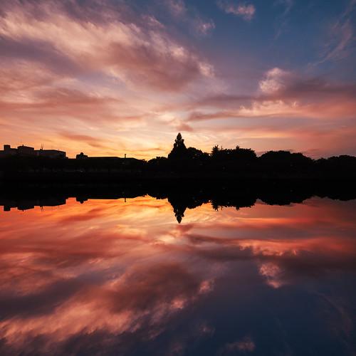 eos5dmarkⅳ tse17mmf4l sunset