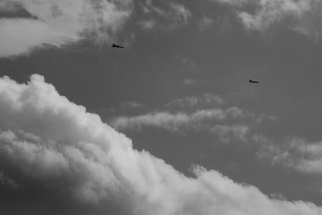 fighter jets circling before Fenway Park flyover POV 22 parker, wakefield (2017)