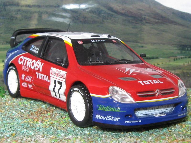 Citroën Xsara WRC – Montecarlo 2003