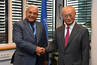Dr. Hashim Yamani & Yukiya Amano (01116466)