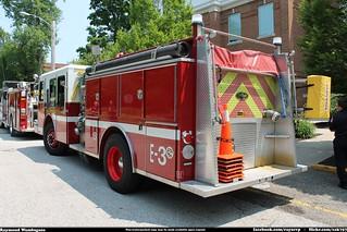 Hiram Ohio Fire Department E-One Engine 3   by Seluryar