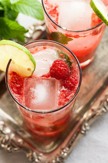 Raspberry Mojitos | by Isabelle @ Crumb