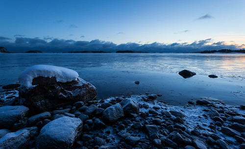 meri landscape yö taivas jää talvi kivi outdoor seascape ranta beach dark ice lowlight night nightscape sea shore sky stone winter espoo uusimaa finland fi