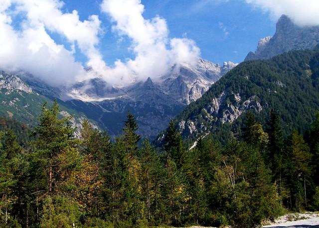 Wolken über den  Loferer Steinbergen, Tyrol, Austria