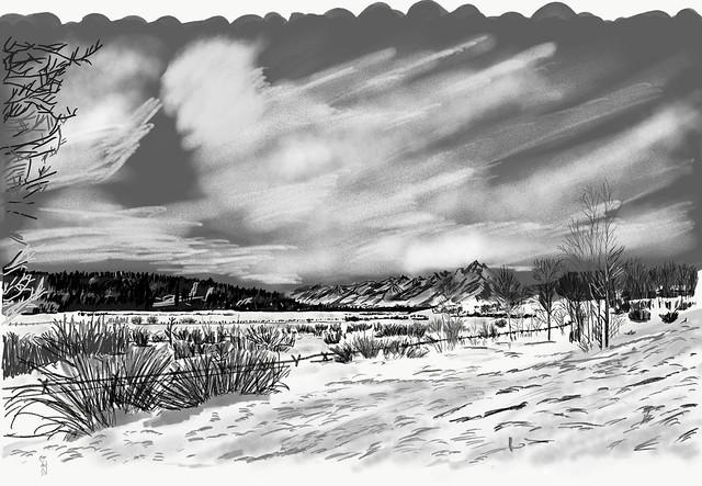My Travels - Grand Teton National Park Winter