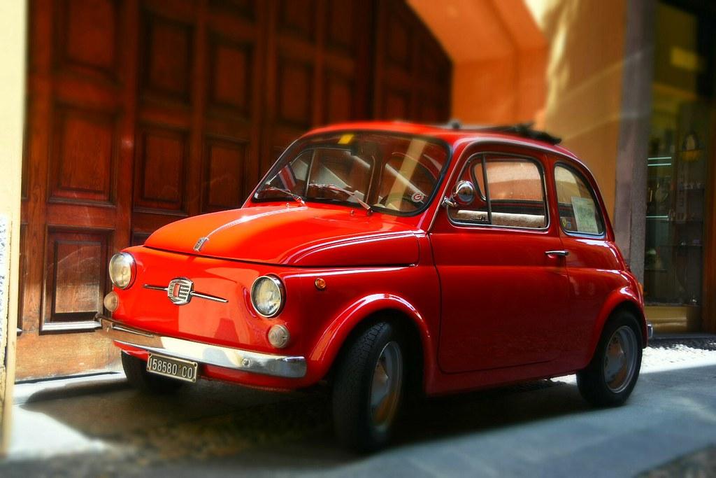 Old School Fiat 500 Bellagio Italy Paul Mercer Flickr