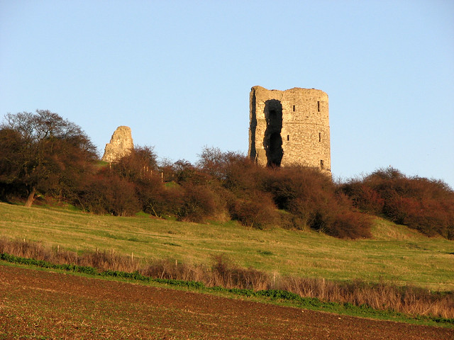 The ruins of Hadleigh Castle