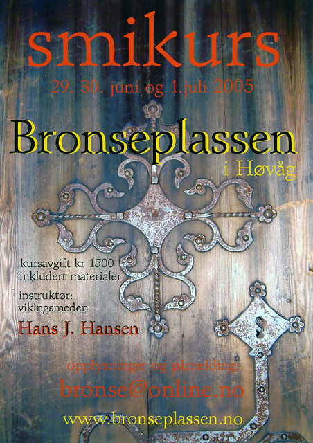 course with Hans Jonny Hansen