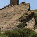 David Gareja monastery built into rocks