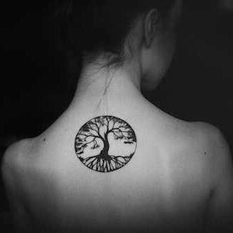 Tatuaż Celtycki Drzewo życia Circle đen Tatu Flickr
