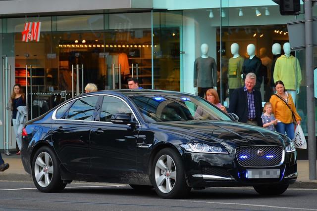 Unmarked Jaguar XF