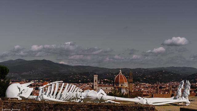 Skeleton in Florence