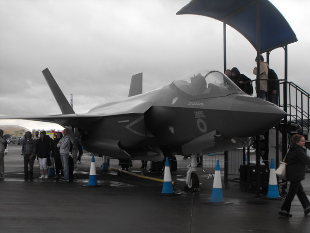 F-35 Mock-Up @ RIAT - July 2017