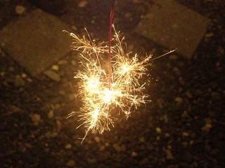 Sparkler   by Shinji Abe