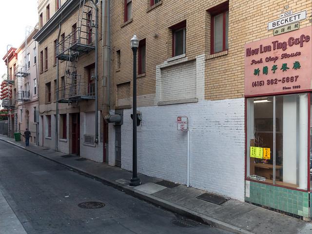 Along Jackson Street SF