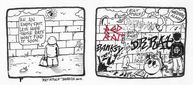 Rat attack, 2017