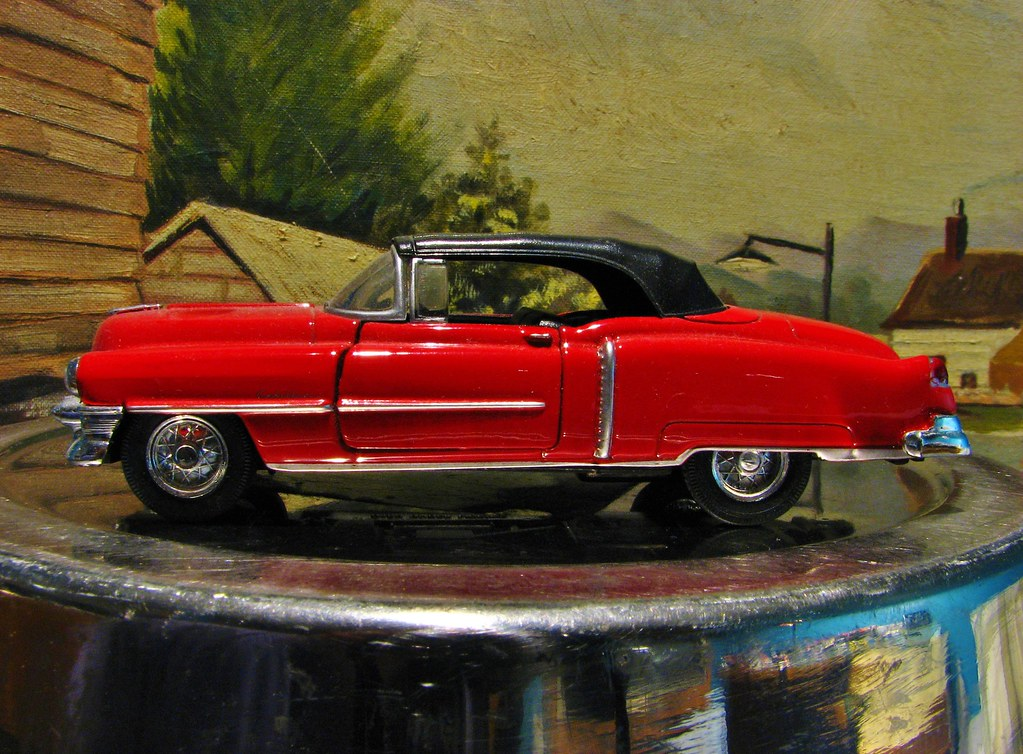 A 1/43 SCALE 1953 CADILLAC ELDORADO CONVERTIBLE | From WELLY… | Flickr