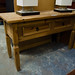 Console table comes with 2 drawers  E110