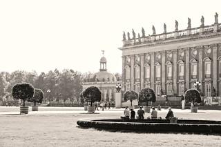 Sanssouci Park Potsdam New Palace