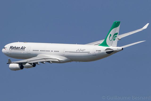 Airbus A340-300 Mahan Air EP-MMD MSN 164