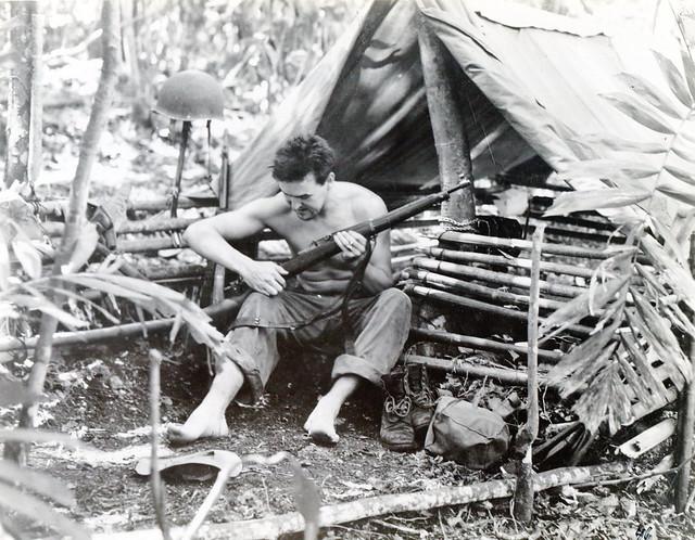 Marines in Guadalcanal, circa 1942