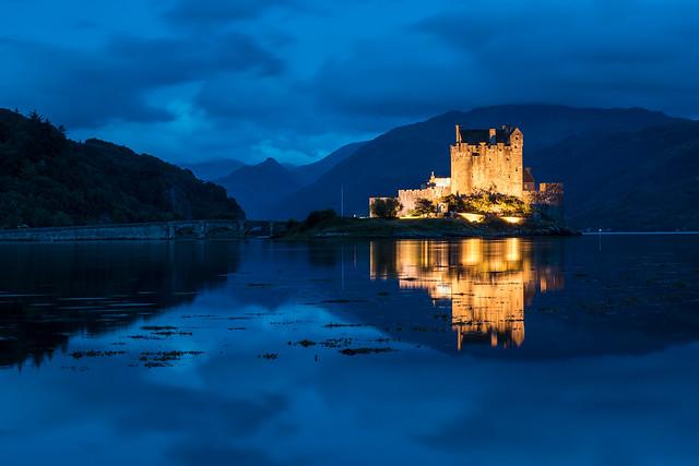 Eilean Donan Castle (Blue Hour)