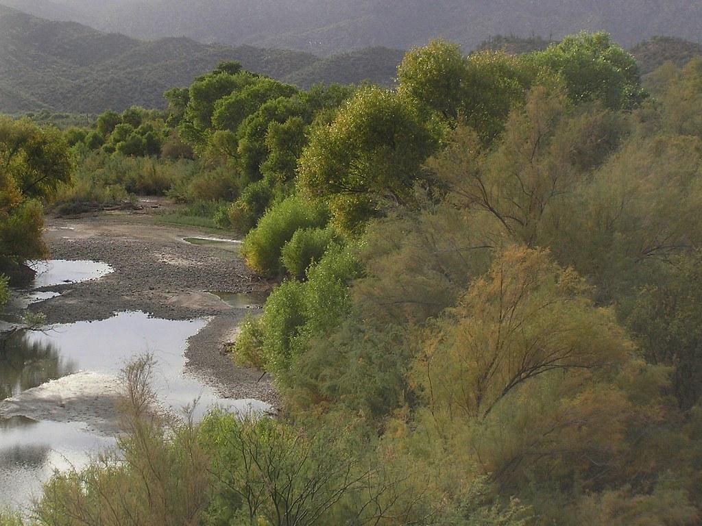 Middle Gila River Arizona