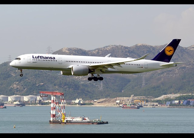 A350-941 | Lufthansa | D-AIXC | HKG