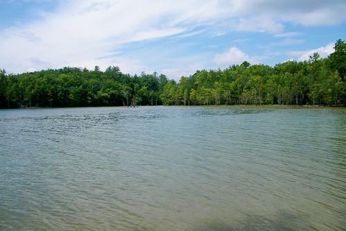 lake james state park north carolina paddy creek