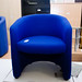 New blue tub chair E80