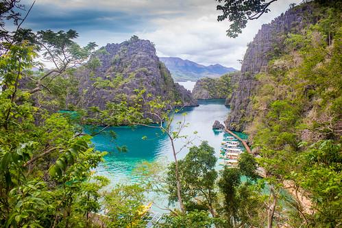 coron palawan philippines bay water nature