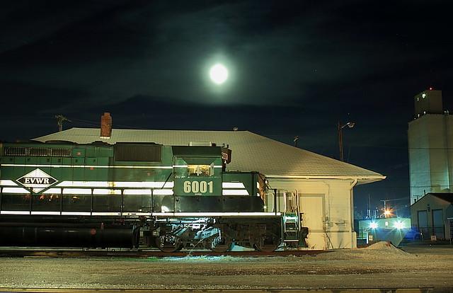 Evansville Western EVWR 6001 (EMD SD40-2) Mt.Vernon, Indiana