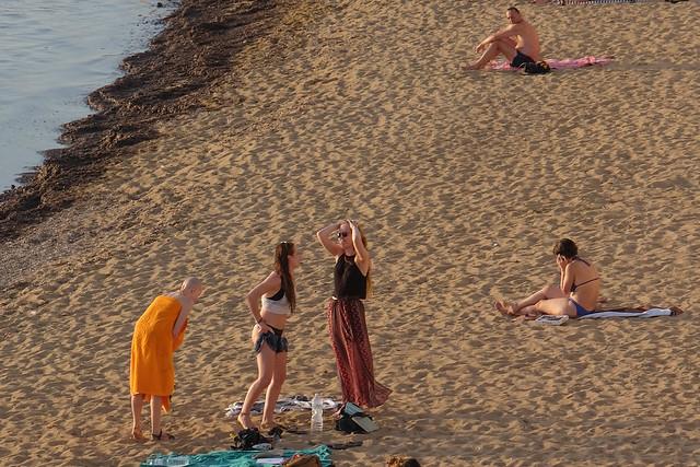 Bellezze in spiaggia