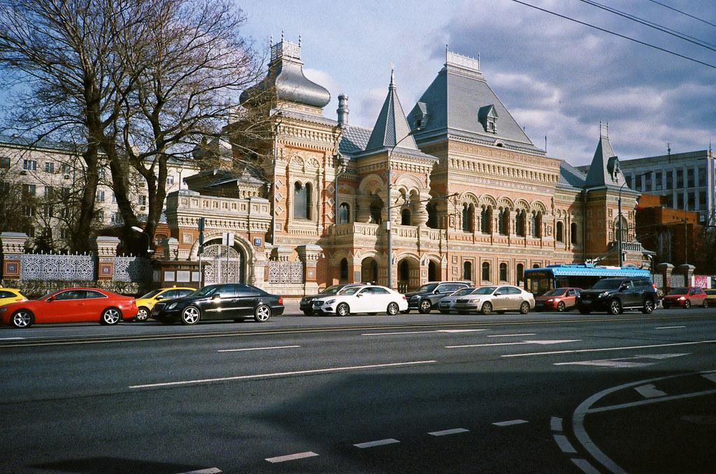Москва, центр, посольство Франции