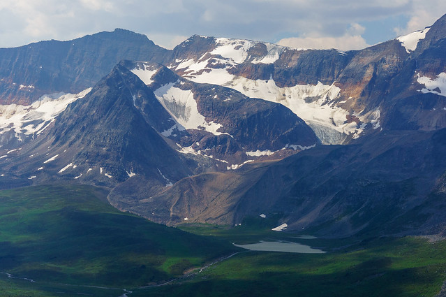 a view from jonas shoulder, jasper national park, alberta canada