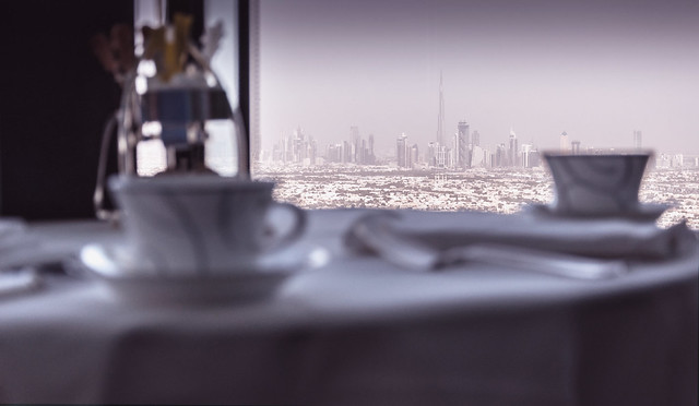 Tea at Burj Al Arab.