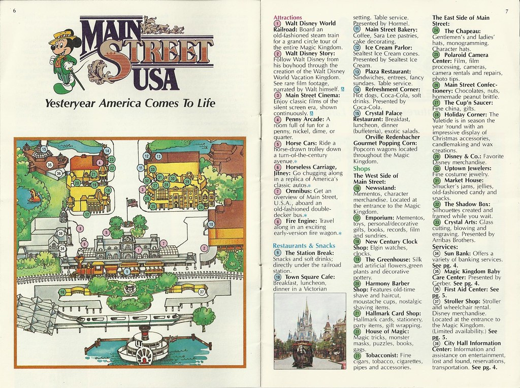 1983 Walt Disney World Magic Kingdom Guide | In August 1983 … | Flickr