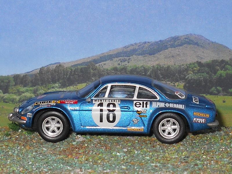 Alpine Renault A110 – Montecarlo 1973