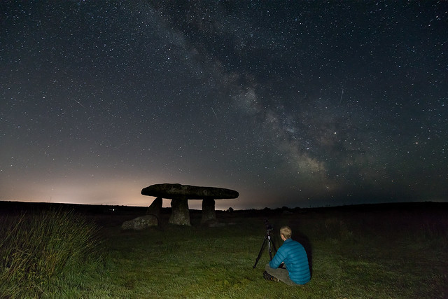 Dark sky over Lanyon Quoit BTS